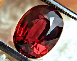 5.19 African VVS Red Rhodolite Garnet - Superb