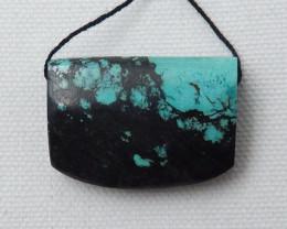 Beautiful Turquoise ,Handmade Gemstone ,Turquoise Pendant ,Lucky Stone C304