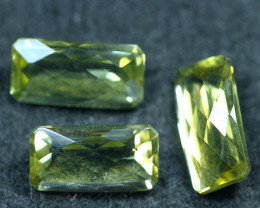 13.25cts 3 Pieces Lemon Quartz Pair