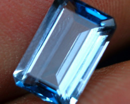 3.45cts Stunning Color London Blue Topaz