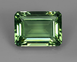 PRIVATE AUCTION 29.40Cts Stunning Octagon Cut Green Amethyst Natural Brazil