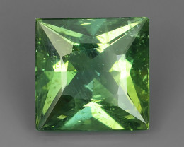 3.08 CTS~HUGE !!! SPARKLING FINEST  NATURAL GREEN APATITE EXECLLENT!