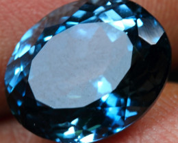5.55cts Sparkling Dark Sky London Blue Topaz
