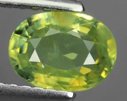 1.18 Cts_Shimmering_Oval Cut_Fine Lemon Yellow_Sizzling_Chrysoberyl_NR!!