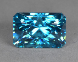 8.30 Cts Dazzling Beautiful Natural Cambodian Blue Zircon