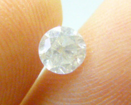 0.54ct  Fancy White Diamond , 100% Natural Untreated