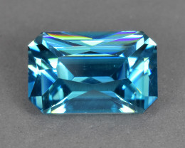 4.75 Cts Amazing Beautiful Natural Cambodian Blue Zircon
