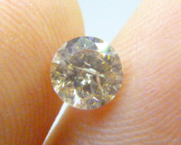 0.76ct  N-I1 Diamond , 100% Natural Untreated