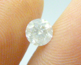 0.60ct  Fancy White Diamond , 100% Natural Untreated