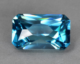 7.90 Cts Fantastic Beautiful Natural Cambodian Blue Zircon