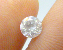 0.615ct  J-SI2  Diamond , 100% Natural Untreated
