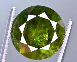 GGL Certified 8.50 Ct Top Fire Natural Chrome Sphene From Skurdu Pakistan