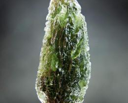 Big Natural Moldavite CERTIFIED