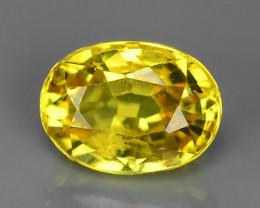 1.11 Carat Very Rare Yellow Color Sapphire Loose Gemstones