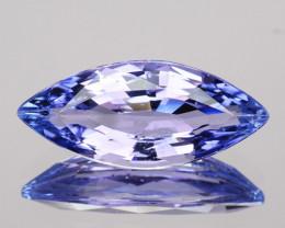 Glorious 1.03Ct Natural Purple Blue Tanzanite Marquise