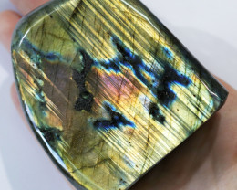 """1861 CTS"""" ELECTRIC MIDNINGHT"""" LABRADORITE POLISHED [STS7890]2"""