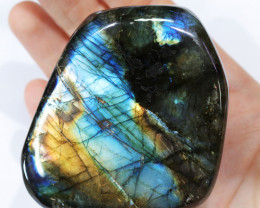 """1673 CTS"""" ELECTRIC MIDNINGHT"""" LABRADORITE POLISHED [STS7892]"""