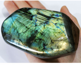 "3340 CTS"" ELECTRIC MIDNINGHT"" LABRADORITE POLISHED [STS7893]"