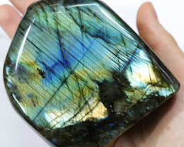 """3080 CTS"""" ELECTRIC MIDNINGHT"""" LABRADORITE POLISHED [STS7895]"""