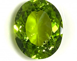 ⭐3.84ct Bright Peridot Gem - No reserve