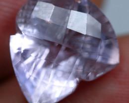 9.30cts Wonderful Purplish Africa Amethyst Fancy Cutting Gemstone