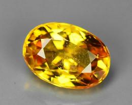 1.23 Carat Very Rare Orange Color Sapphire Loose Gemstones
