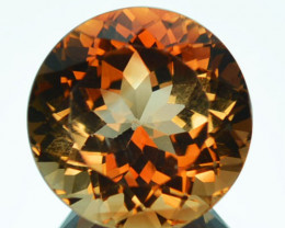 Pretty Round 7.76Ct Natural South American Topaz
