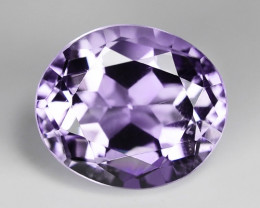 7.89 Ct Natural Amethyst Awesome Color & Luster Gemstone AM18