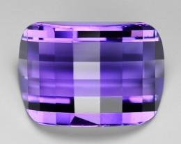 8.96 Ct Natural Amethyst Awesome Color & Luster Gemstone AM20