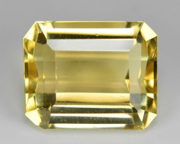 10.30 Ct Natural Citrine Awesome Color & Cut Gemstone CT2