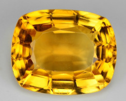 11.79 Ct Natural Citrine Awesome Color & Cut Gemstone CT3