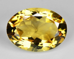 4.90 Ct Natural Citrine Awesome Color & Cut Gemstone CT12