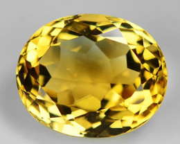 5.41 Ct Natural Citrine Awesome Color & Cut Gemstone CT14