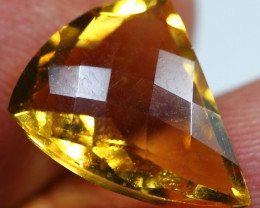 5.45cts Beautiful Gold Yellow Citrine Fancy Cutting Gemstone