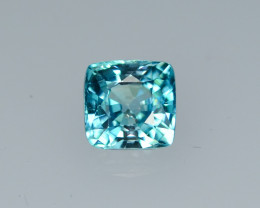 1.85 Cts Fabulous Lustrous Cambodian Blue Zircon