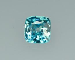 2.08 Cts Fabulous Lustrous Cambodian Blue Zircon