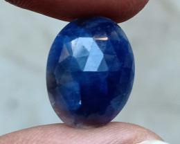 GENUINE BLUE SAPPHIRE ROSE CUT GEMSTONE NATURAL+UNTREATED VA4636