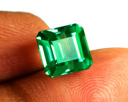 Gorgeous 1.66 ct High-End Zambian Emerald Certified!