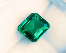1.50 ct Majestic Top Zambian Emerald Certified!