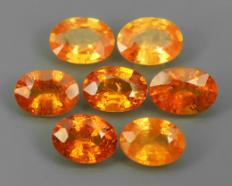 6.20 Cts~Natural Shocking Orange Fanta Spessartite Garnet Namibia, Amazing~