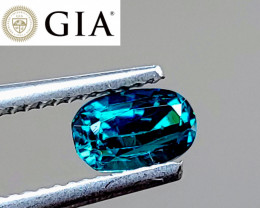 NR! GIA Cert. Unheated VIVID Blue Loupe-Clean Indicolite (Brazil) $3,100