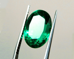1.41 ct Top Of The Line Emerald Certified!