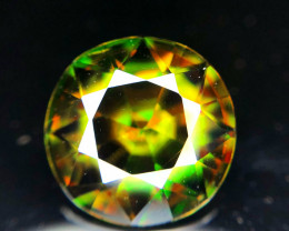 5.45 Carats Natural Full Fire Sphene Gemstone From Pakistan