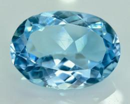 13.87 Crt Natural Topaz Faceted Gemstone.( AG 35)