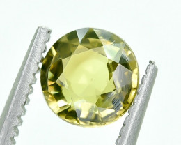 0.89 Crt Natural Chrysoberyl Faceted Gemstone.( AG 35)