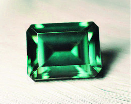 Top Of The Line 2.73 ct Magnificent Zambian Emerald Certified!