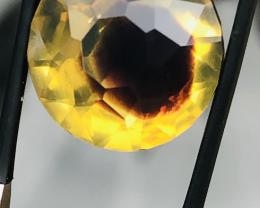 5.8 CT Amber Brilliant Cut BI - COLOR Gorgeous! Verkaufe von mir