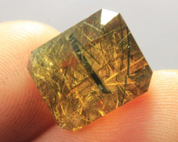 Rare & Natural Golden Danburite Gemstone From Afghanistan