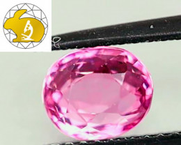 GLC Cert. Unheated Purplish-Pink Mahenge Spinel (Tanzania) $1,000