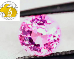 LOUPE-CLEAN! Certified Unheated Pink Mahenge Spinel (Tanzania) $2,250